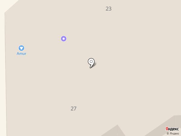 Магазин свежего мяса на карте Батайска