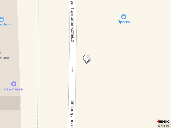 Ермолино на карте Батайска