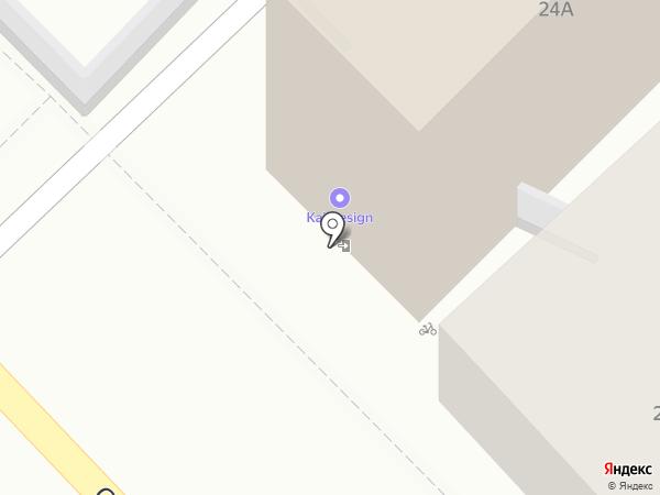 Стрижи на карте Рязани