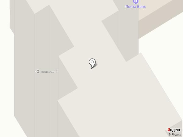 Почтовое отделение №23 на карте Ростова-на-Дону