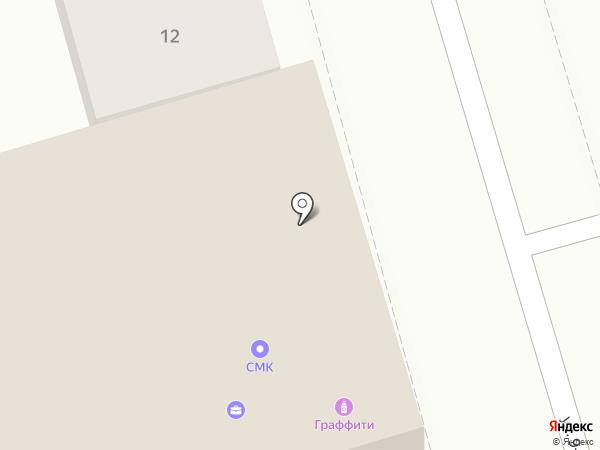 PopUp на карте Ростова-на-Дону