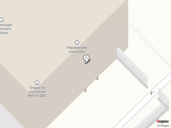 Территориальное Управление-префектура Советского района Администрации г. Рязани на карте Рязани