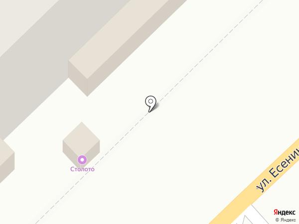 Гослото на карте Рязани