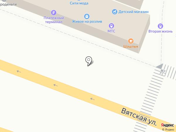 Живое на розлив на карте Ростова-на-Дону