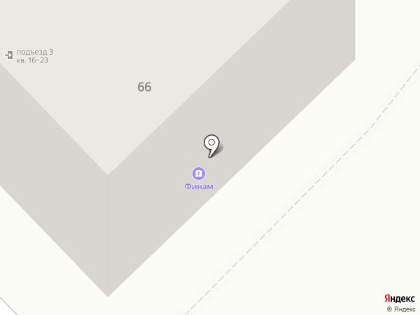 Банк ФИНАМ на карте Рязани