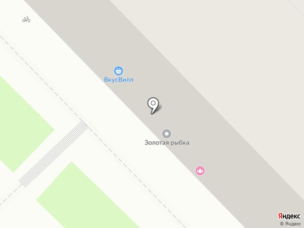 Монисто на карте Рязани
