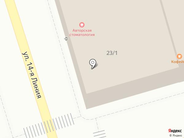 Ольга на карте Ростова-на-Дону
