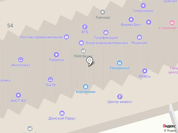 Маркус на карте Ростова-на-Дону