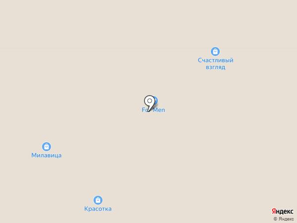 Красотка на карте Ярославля