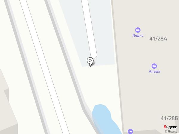 Ледис на карте Сочи