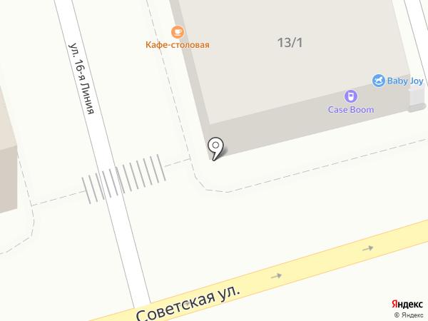 Кофе бар 61 на карте Ростова-на-Дону