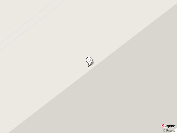 Заря на карте Северодвинска