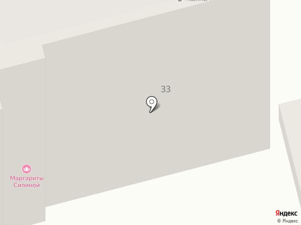 Мини-гостиница на карте Ростова-на-Дону