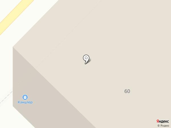 Канцлер на карте Рязани