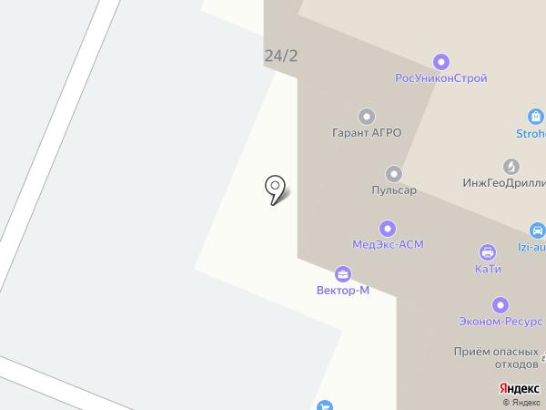 КримТехТрейд на карте Ростова-на-Дону