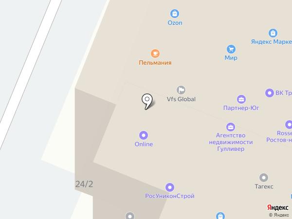 Строй-Ресурс на карте Ростова-на-Дону