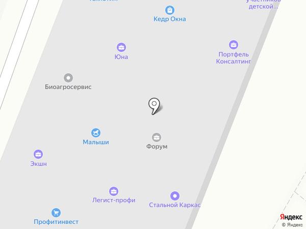 Кадровик на карте Ростова-на-Дону