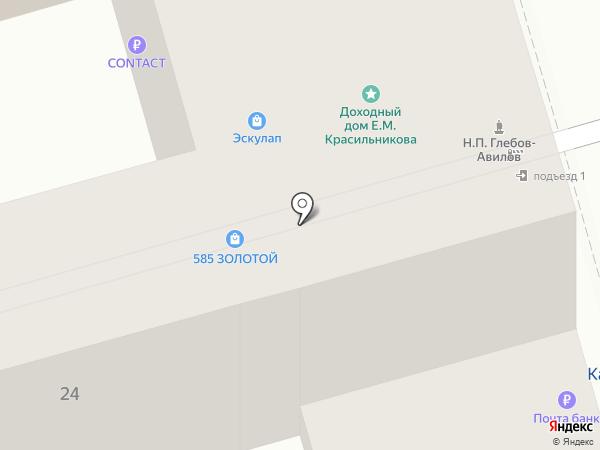 Макс-М на карте Ростова-на-Дону