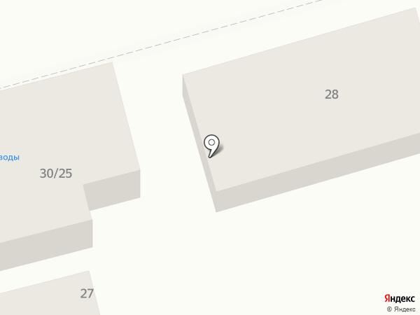 Магазин по продаже воды на карте Ростова-на-Дону