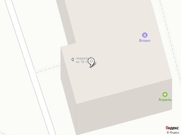 BROWN на карте Рязани