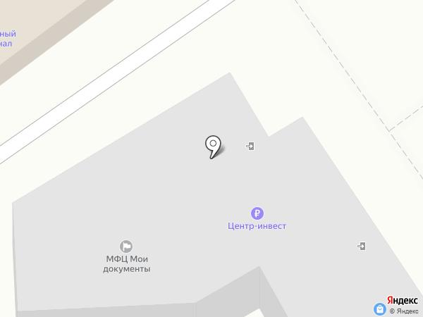 Поликлиника №6 на карте Батайска