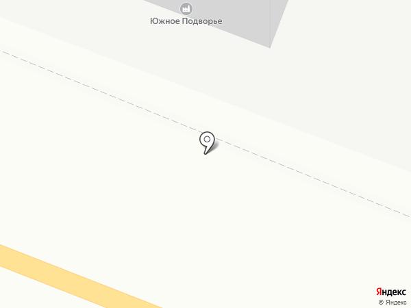 Южное Подворье на карте Ростова-на-Дону