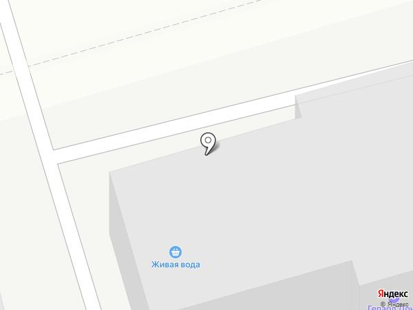 Гепард Дона на карте Ростова-на-Дону
