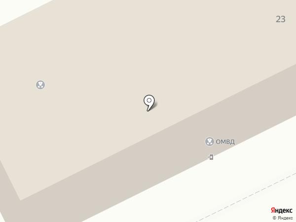 Отдел полиции №1 на карте Рязани