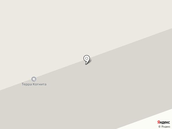 Клюв попугая на карте Северодвинска