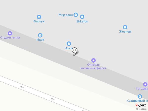 Диалог на карте Ростова-на-Дону