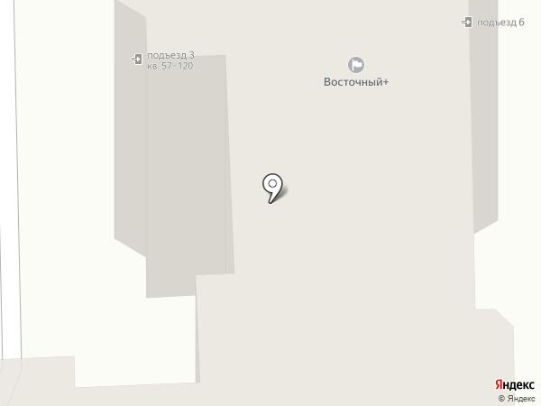 Восточный+ на карте Батайска