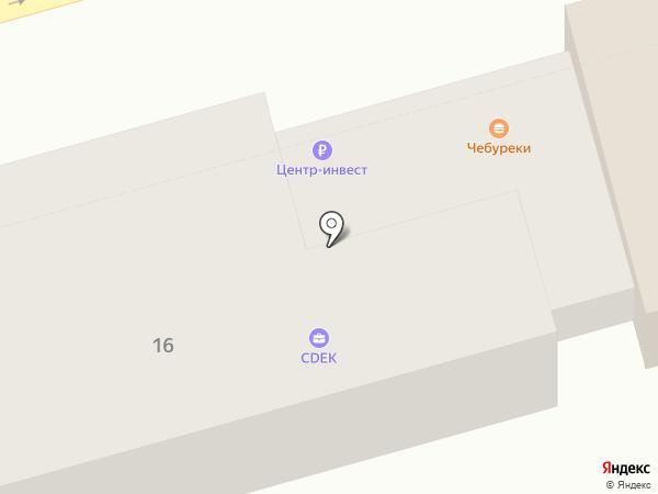 Банкомат, КБ Центр-инвест, ПАО на карте Ростова-на-Дону