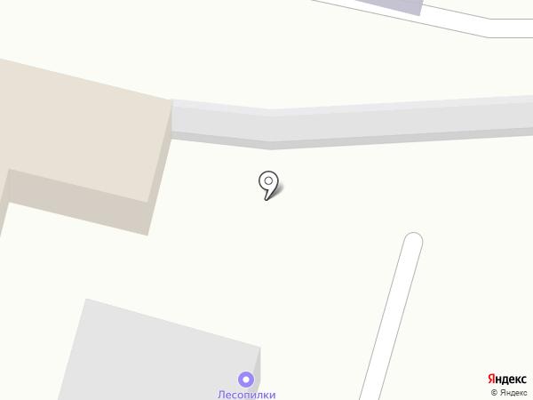 Лесопилки Ярославля на карте Карачихи