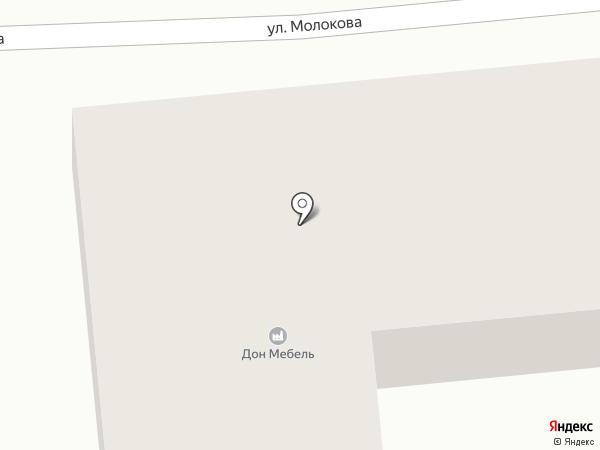 Дон-мебель на карте Батайска