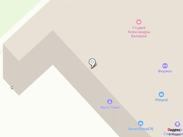 Меховое ателье скорняка Александра на карте Ярославля