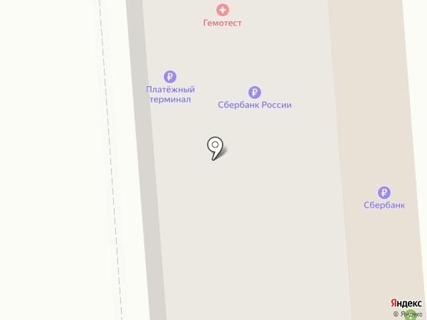 Магнит на карте Батайска