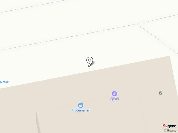 Заря на карте Ярославля