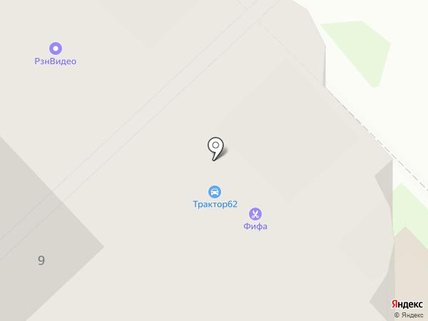 Фифа на карте Рязани
