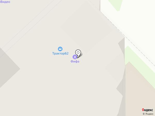 Вдохновение, ТСЖ на карте Рязани