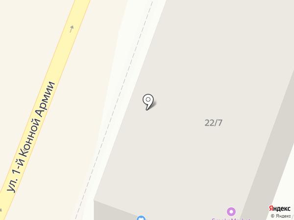 Охрана на карте Ростова-на-Дону