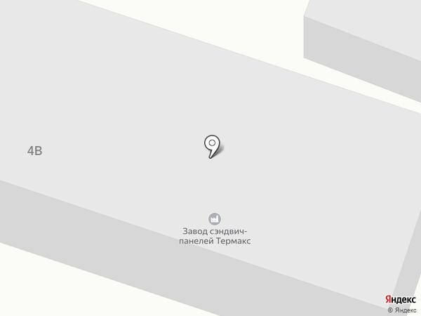 Южные ворота на карте Батайска