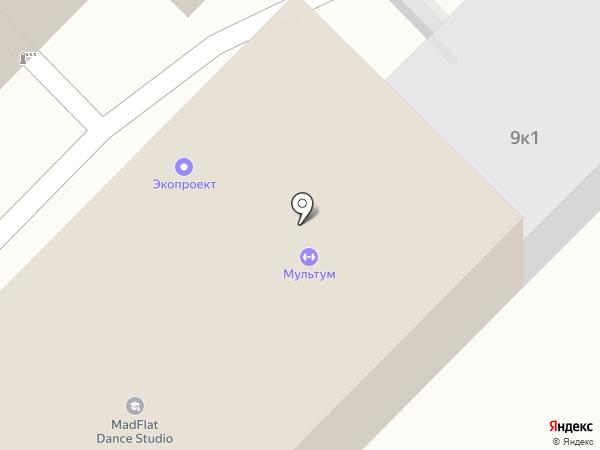 Новоком на карте Рязани