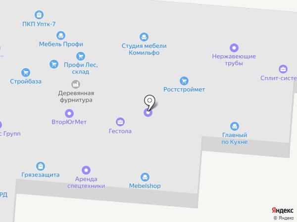 ПетраКом на карте Ростова-на-Дону