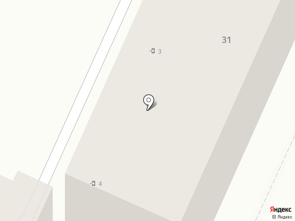 Находка на карте Ростова-на-Дону
