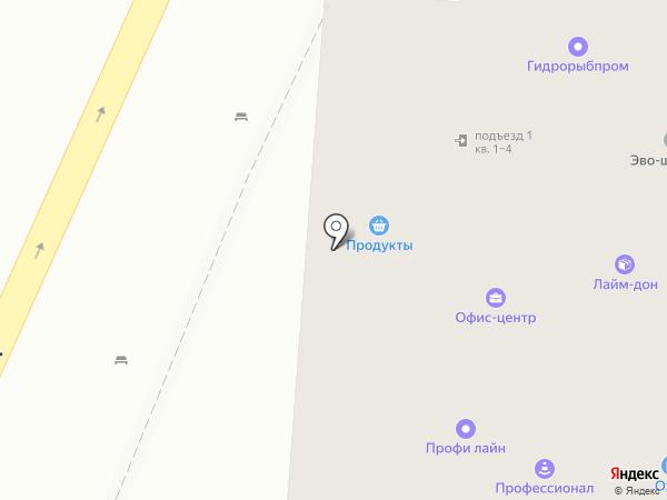Атревел на карте Ростова-на-Дону