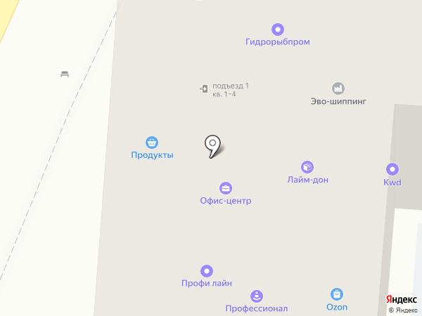 i Сломал на карте Ростова-на-Дону