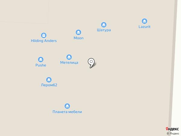 Мебель-Кит на карте Рязани