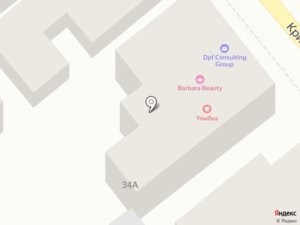 Табурет на карте Ростова-на-Дону