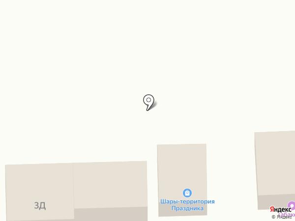 Магазин хозтоваров на ул. Воровского на карте Батайска