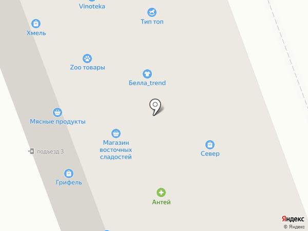 Феникс на карте Северодвинска